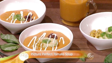 Picture Perfect Tomato Soup