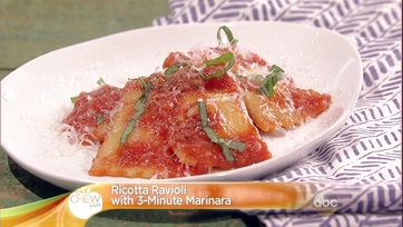 Ricotta Ravioli with 3-Minute Marinara: Part 1