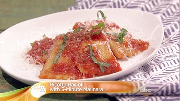 Ricotta Ravioli with 3-Minute Marinara: Part 2