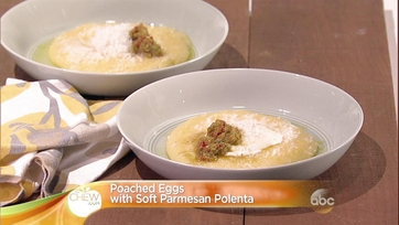 Poached Eggs with Soft Parmesan Polenta: Part 2