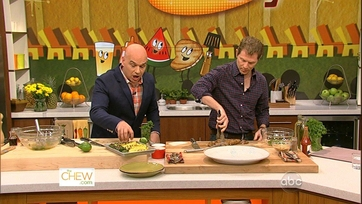 Bobby Flay and Michael Heat Up the Kitchen - Pt 2