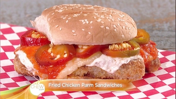 Parm Sandwiches with Pickled Cherry Peppers: Part 1
