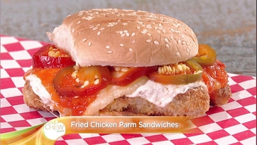 Parm Sandwiches with Pickled Cherry Peppers: Part 2