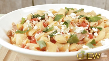 Rigatoni with Chicken and Feta