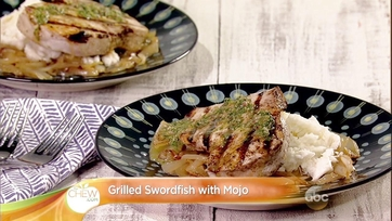 Grilled Swordfish With Mojo: Part 1