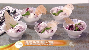 Frozen Buttermilk Cream