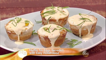 Muffin Tin Eggs Benedict: Part 2