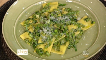 Pasta Primavera Mascarpone Ravioli: Part 1
