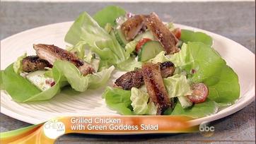 Grilled Chicken with Green Goddess Salad: Part 2
