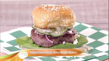 Mediterranean-Style Turkey Burger Sliders: Part 2