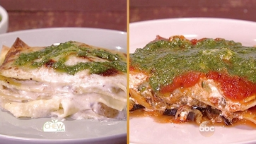 White Lasagna with Potatoes & Pesto | Eggplant & Zucchini Lasagna: Part 2