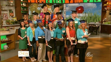 The Chew\'s Cooking Class Graduation