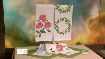 Stamped Tea Towels: Part 1