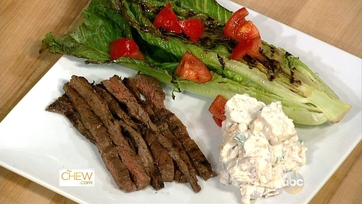 Justine\'s Skirt Steak with Potato Salad