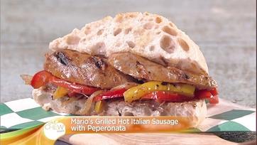 Grilled Hot Italian Sausage with Peperonata: Part 1