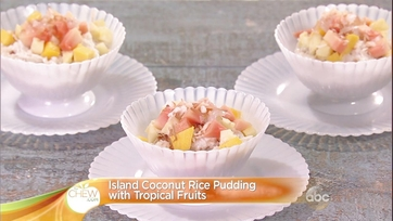 Island Coconut Rice Pudding with Tropical Fruits: Part 1