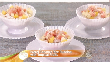 Island Coconut Rice Pudding with Tropical Fruits: Part 2