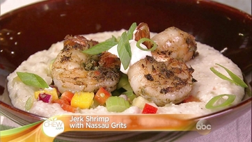 Jerk Shrimp with Nassau Grits: Part 2