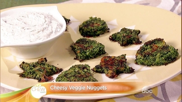 Cheesy Veggie Nuggets: Part 1