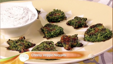 Cheesy Veggie Nuggets: Part 2