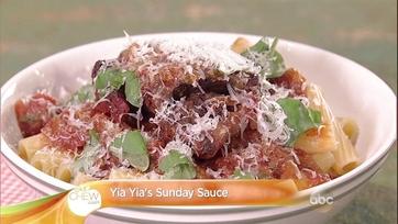 Yia Yia\'s Sunday Sauce