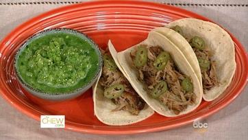 Carnitas with Salsa Verde Cruda: Part 1
