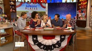 Chat N\' Chew: Patriotic Plates