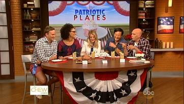 The Chew Crew\'s Patriotic Dishes