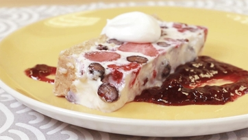 No-Bake Summer Berry Cheesecake