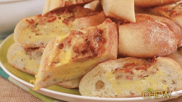 Bacon, Egg and Cheese Boats