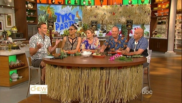 Chat N\' Chew: The Chew\'s Tiki Party