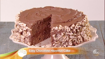 Daphne Oz\'s Easy Chocolate Hazelnut Cake