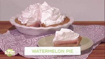 Carla Hall\'s Watermelon Pie