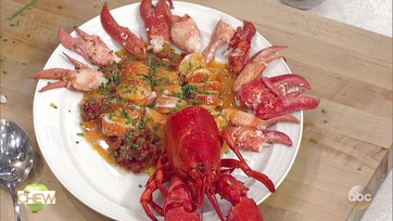 Mario Batali\'s Lobster Americaine & Michael Symon\'s Sweet Corn and Tarragon Risotto Part 2