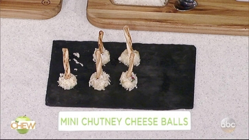 Clinton Kelly\'s Mini Chutney Cheese Balls