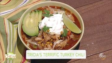01:36 The Chew Tricia's Terrific Turkey Chili Get the recipe: http ...