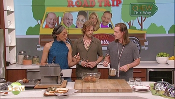 Carla Hall Makes Nashville Hot Wings with Florida Georgia Line: Part 2
