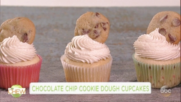 Chocolate Chip Cookie Dough Cupcake: Part 1