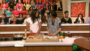 Laila Ali Heats Up The Kitchen - 2