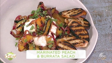 Marinated Peach and Burrata Salad Michael Symon: Part 1