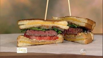 Clinton\'s Grilled Cheese Hamburger - 1