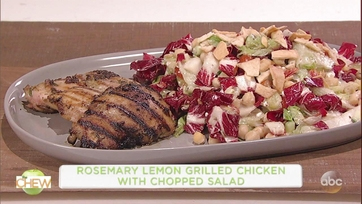 Rosemary Lemon Grilled Chicken with Chopped Salad: Part 1