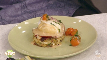Mario Batali\'s Crab Cake Eggs Benedict with Chipotle Hollandaise: Part 2