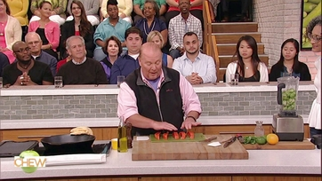 Mario Batali\'s Charred Salmon Tacos: Part 1