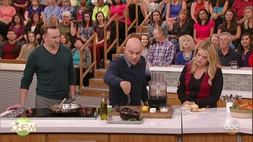 Michael Symon\'s Charred Eggplant Dip: Part 1