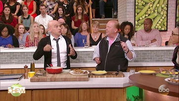 Michael Symon\'s Grilled Pork Tenderloin with Apple and Peach Mostarda: Part 2