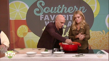 Michael Symon\'s Chicken with Greek Yogurt Drop Biscuits: Part 2