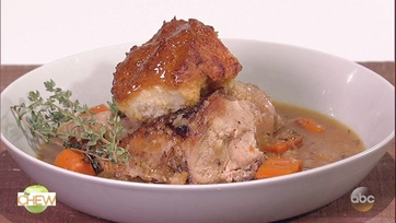 Michael Symon\'s Chicken with Greek Yogurt Drop Biscuits: Part 1