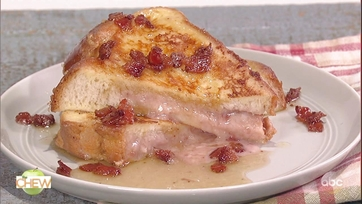 Michael Symon\'s Stuffed French Toast with Bacon Bourbon Maple Syrup: Part 1