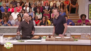 Michael Symon\'s Stuffed French Toast with Bacon Bourbon Maple Syrup: Part 2
